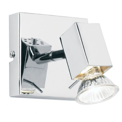 1Light Spot Light Chrome Plated Shade & Lamp *Now Unswitched*** EL-10049